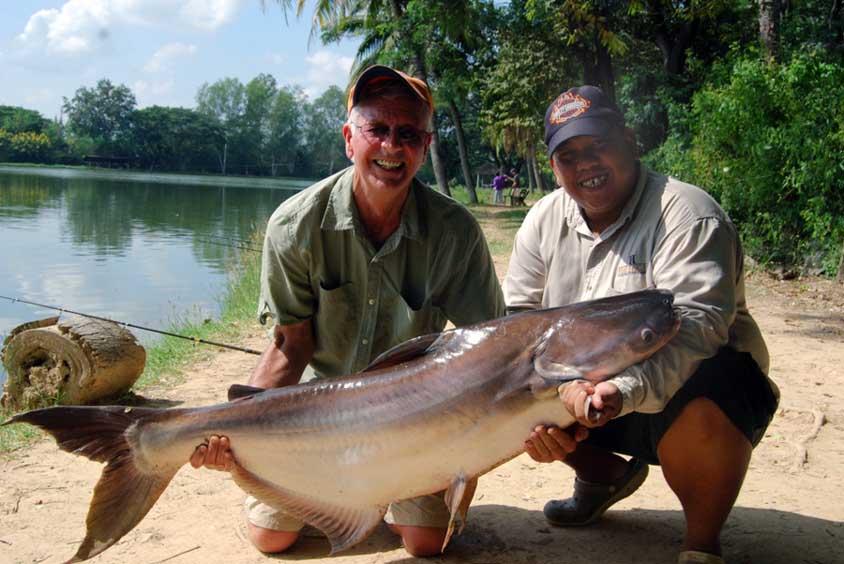 70lbs of Mekong Catfish