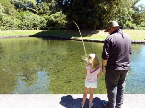 National Trout Centre NZ. Free flyfishing lessons for children.