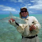 Allan with a fine Bonefish